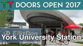 York University Subway Station Doors Open 2017 thumbnail