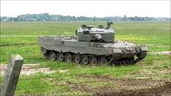 Bundesheer Leopard 2 A4 Panzer Vorführung ÖBH Hessen-Kaserne Wels