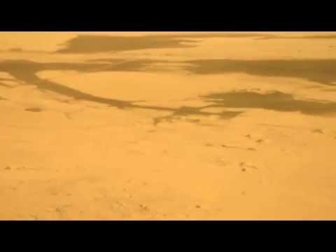 Landing at Walvis Bay (Walvisbaai) Airport, Namibia