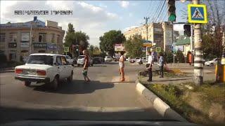 #8 Пешеходы-нарушители не хотят жить? / Idiots!
