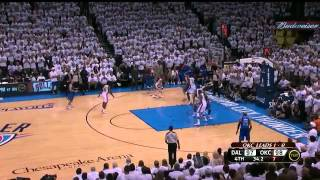 Thunder vs Mavericks NBA Playoffs 2012 Round 1 Game 2 Last Minute