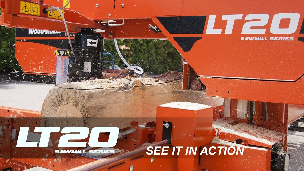 LT20B Sawmill in Action | Wood-Mizer Europe