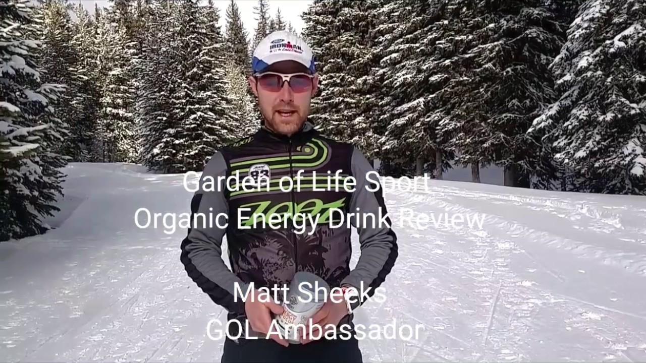 Garden Of Life Sport Organic Energy Focus Drink Review Youtube
