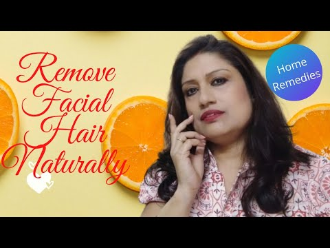 How To Remove Facial Hair Naturally / Skin Care Home Remedy l/ Remove Facial Hair At Home