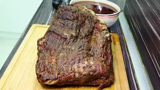 ETİN İÇİNDEN ŞELALE AKIYOR!!! (8 Kg Brisket 28 Saat Pişirdim) Smoked Sous Vide Brisket Recipe