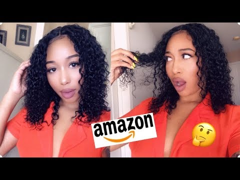 Trying A Wig From Amazon| Ft. LiazaHair