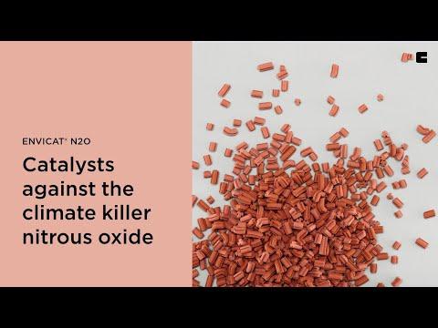 EnviCat® N20 - catalysts against the climate killer nitrous oxide