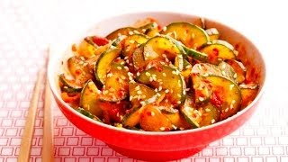 Easy Cucumber Kimchi Under 10 Mins I Korean Food