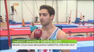Bu Hareketi Jimnastik Tarihine Geçti - TRT Avaz Haber