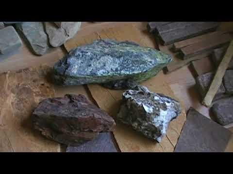 Ландшафтный камень Змеевик Яшма Кварц
