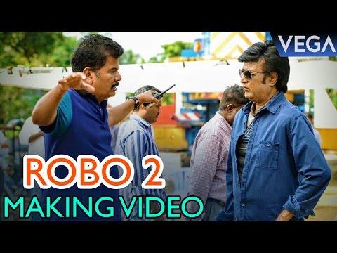 Rajinikanth Robot 2.0 Making Video | Rajinikanth | Akshay Kumar | Shankar | Amy Jackson