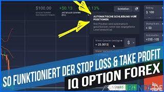 IQ Option Forex: So funktioniert der Stop Loss & Take Profit