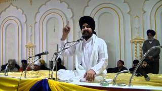 Repeat youtube video Prof. Sarbjit Singh Dhunda - @ Dixie Gurduara- Part 1 (December 19 2011)