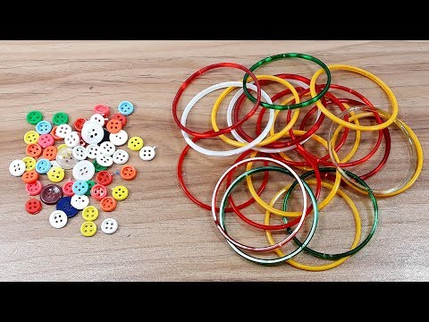 Old bangles Craft Idea | DIY Home Decor with old bangles | DIY Home Decor