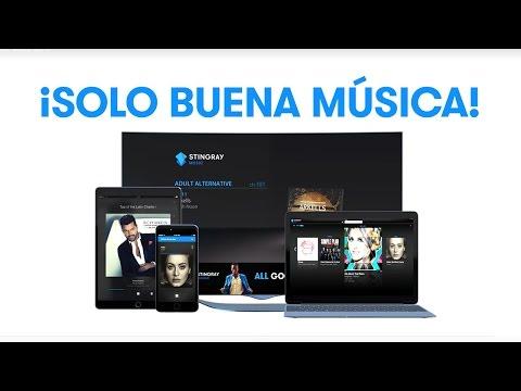 X - Stingray Music en TV, Web, Celulares y Tabletas