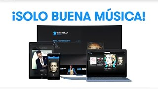 X Stingray Music en TV Web Celulares y Tabletas