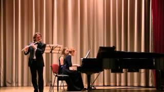 Widor Suite for Flute & Piano - S. Mikhailovsky, L. Gromoglasova