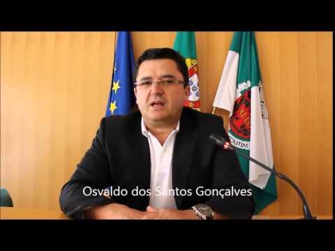 Mensagem do Sr. Presidente da Câmara Municipal de Alcoutim, Osvaldo dos Santos Gonçalves