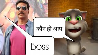 funny talking tom cat speaking punjabi
