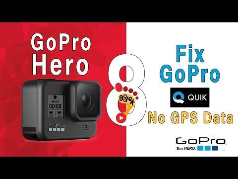 📸 GoPro Hero 8 - SOLVE: No GPS Data On GoPro Hero 8 Black with GoPro Quik. [macOS]