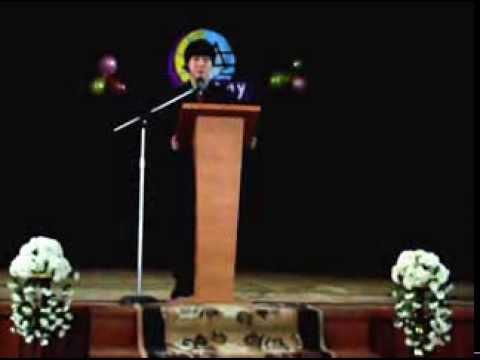 한국어 말하기 대회 2010 (Союзбек Надырбеков)