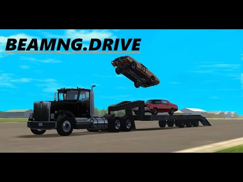 BeamNG.Drive - General Lee Jumps