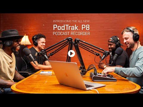 The Zoom PodTrak P8