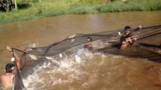 Pesca com Rede Rancho da Grunha!