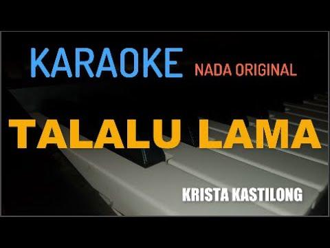 "KARAOKE MANADO TALALU LAMA ""KRISTA KASTILONG"" (KEYBOARD)"