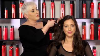 How to use  Big Sexy Hair Push Up Dry Thickening Spray