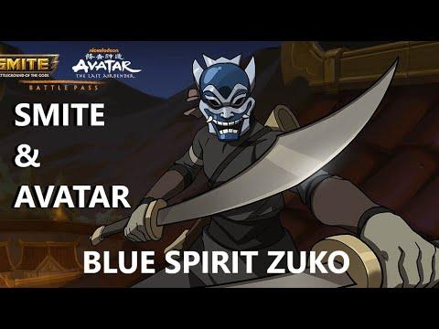 BLUE SPIRIT ZUKO SKIN AVATAR BATTLE PASS & SMITE! – Custom 1v1 Duel FT. Trellirelli – SMITE