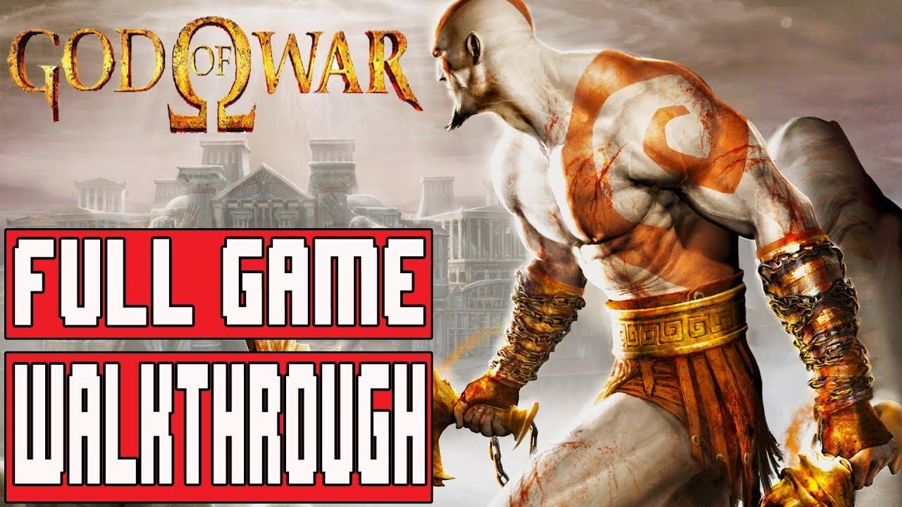 Download GOD OF WAR Full Game Walkthrough - No Commentary (#GodofWar Full Game) 2018