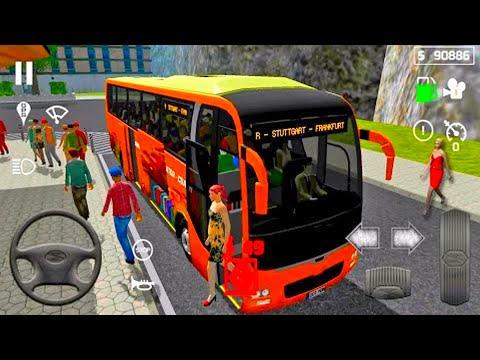 Мультфильм для Детей. Водитель Городского Автобуса. City Bus