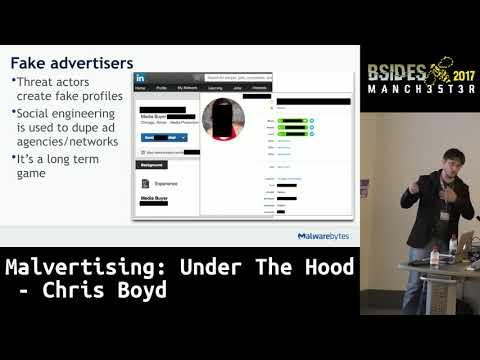 2017 - Malvertising: Under The Hood by Chris Boyd
