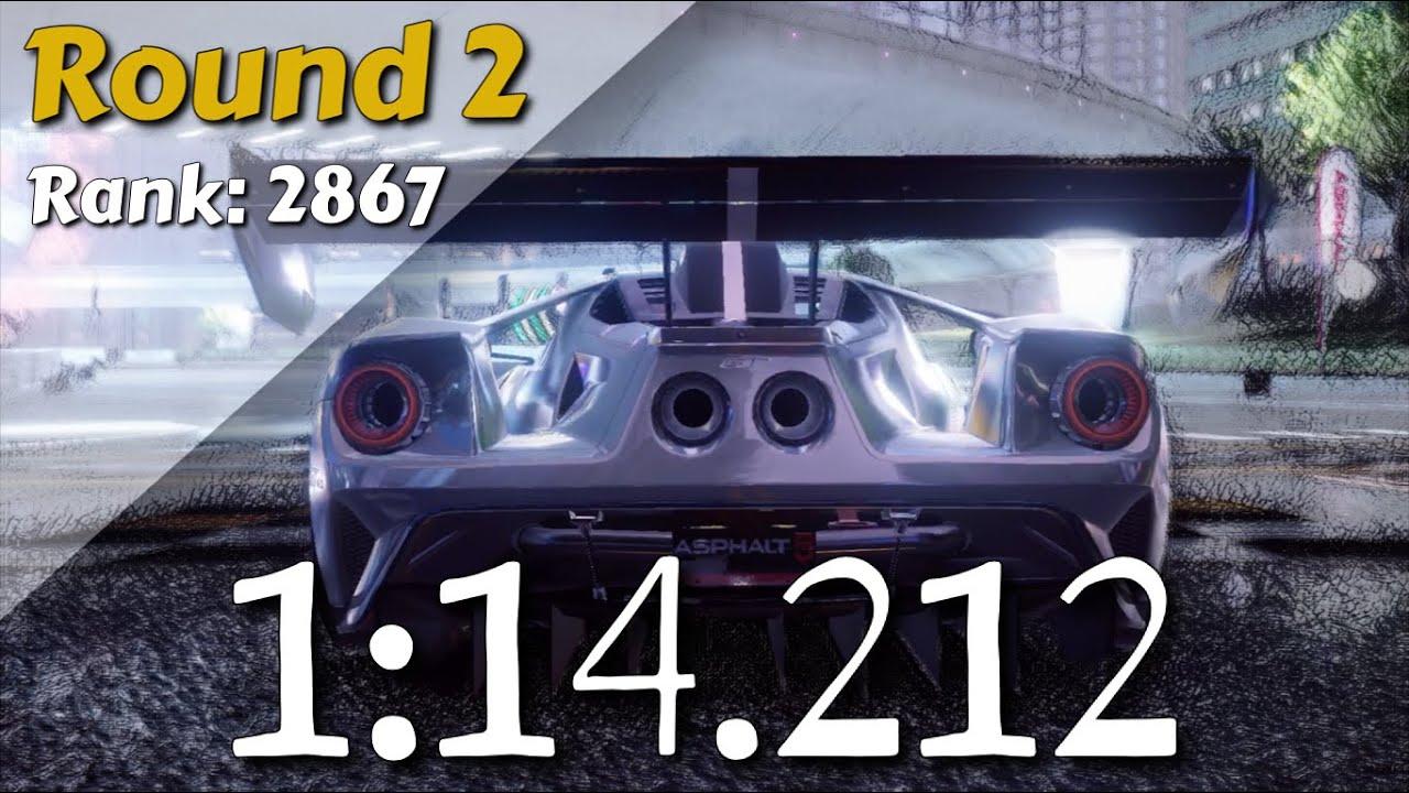 ASPHALT 9 - FORD GT MK II GRAND PRIX (ROUND 2) - 1:14.212