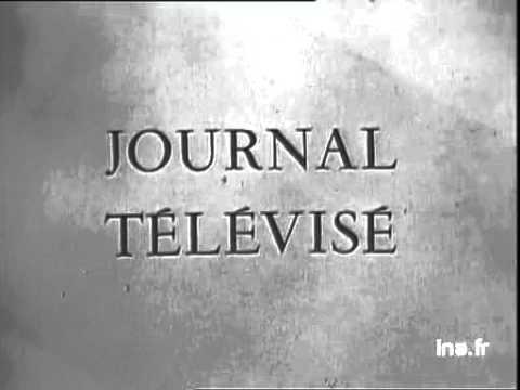 Générique début journal télévisé du 06 novembre 1956 + la sp