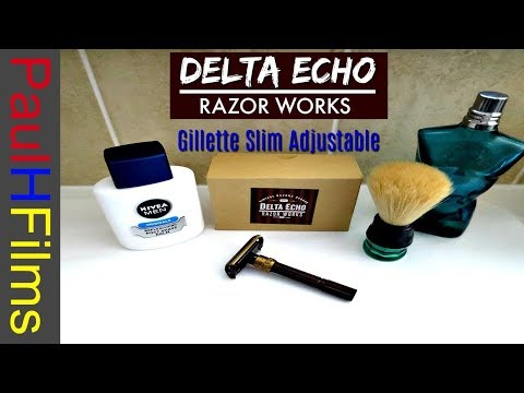 Delta Echo Razor Works  - Gillette Slim Adjustable