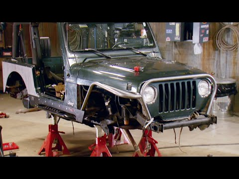 Rebuilding A Salvaged Jeep TJ Into A Dual-Purpose Rig - Xtreme 4x4 S4, E7