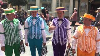 Disney 2016 Main Street Quartet