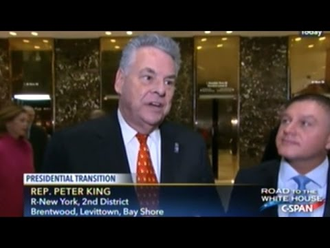 "Congressman Peter King Calls CIA ""Disgraceful!"" For Refusing To Present Evidence On Russian Hacking"