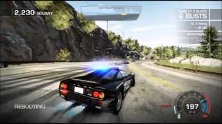 NFS: Hot Pursuit 2010 - End of the Line (Police/McLaren F1/3:41:51)