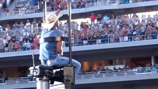 """Kenney Chesney Entrance to Target Field """"Have another Beer in Mexico"""""""