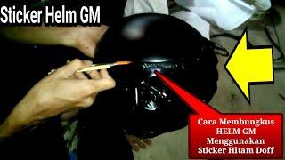 Video Cara Membungkus HELM GM Menggunakan Sticker Hitam Doff download MP3, 3GP, MP4, WEBM, AVI, FLV November 2018