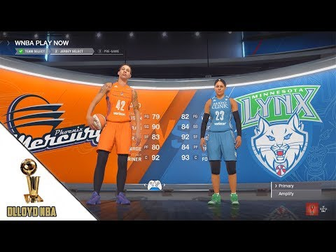 NBA Live 18 Gameplay - Lynx vs Mercury WNBA Raw Gameplay