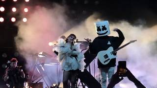 CHVRCHES - Here With Me  (with Marshmello) -  Coachella 2019 Weekend 1 - 4/14/2019 Video