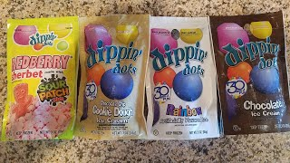 Trying Dippin Dots from the Liquor Store