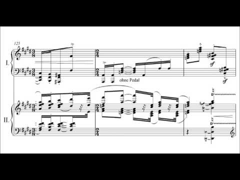 Erich Wolfgang Korngold - Piano Concerto For The Left Hand Alone Op. 17 (audio + Sheet Music)