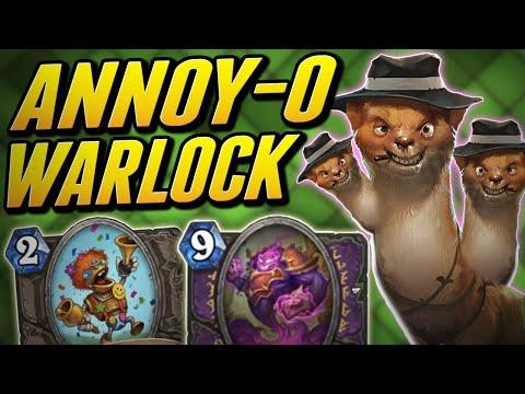 The Most Annoying Deck in Hearthstone | Warlock | Wild Saviors of Uldum