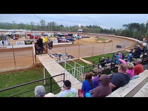 Lake Cumberland Speedway heat 1 04/13/19