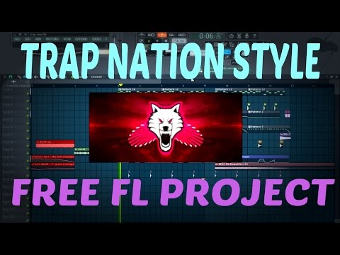 FL Studio 12 - How To Make TRAP NATION Style,TrapWolves - FREE FLP + PRESETS